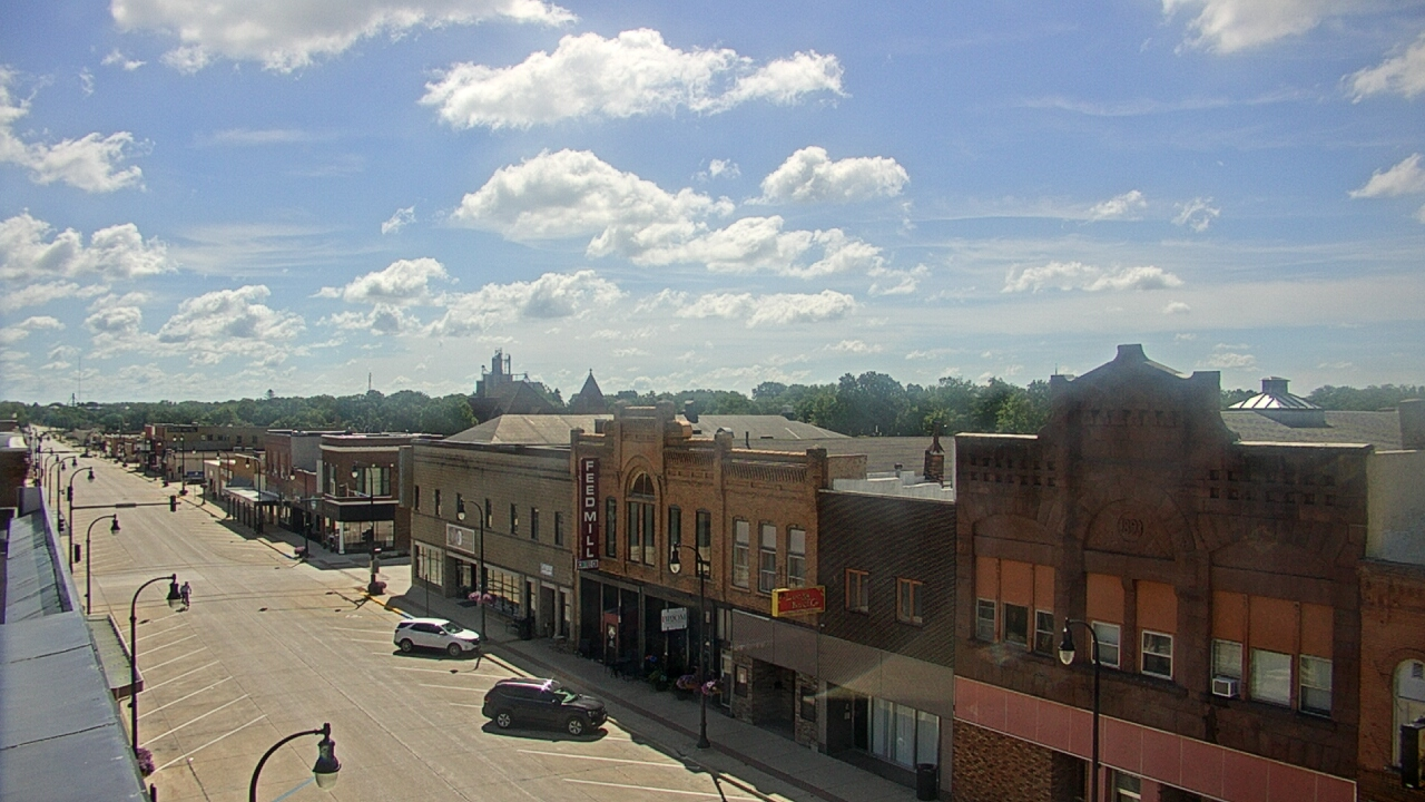 Camera image from Algona (Security State Bank)